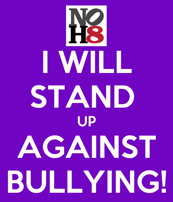 standing up to bullying essay help