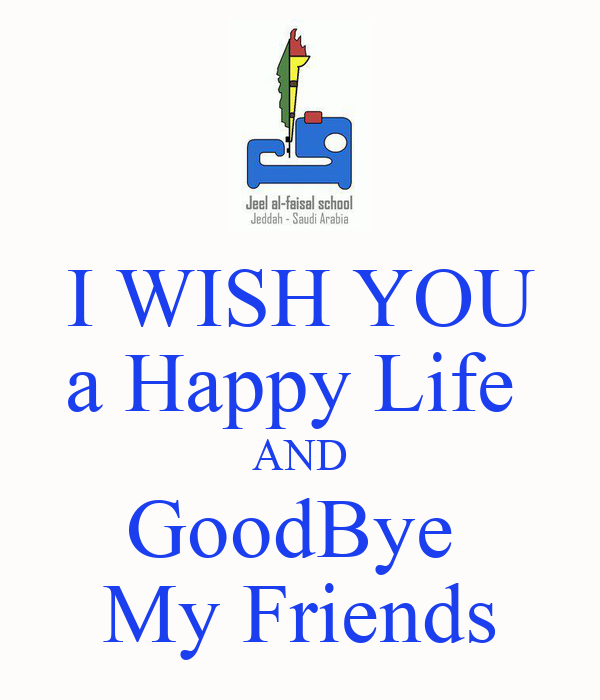 Good Bye Friends Image...