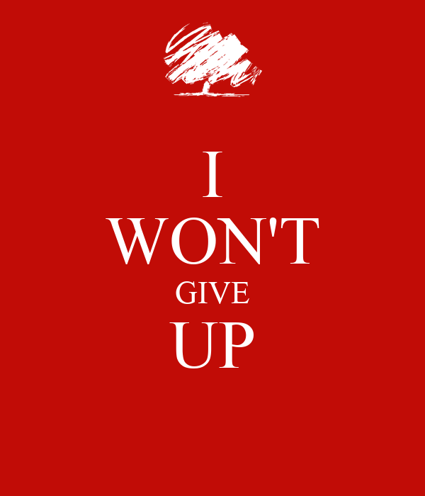 I Wont Give Up Golfclub