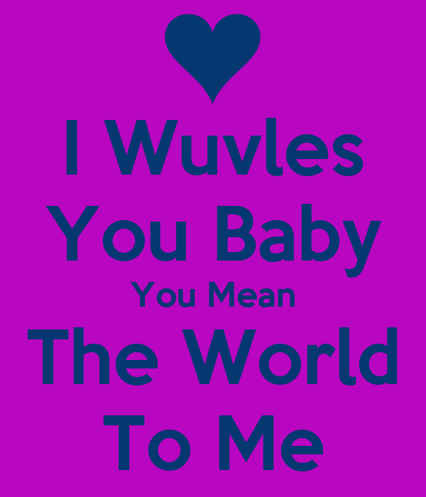 What does wuv mean in texting