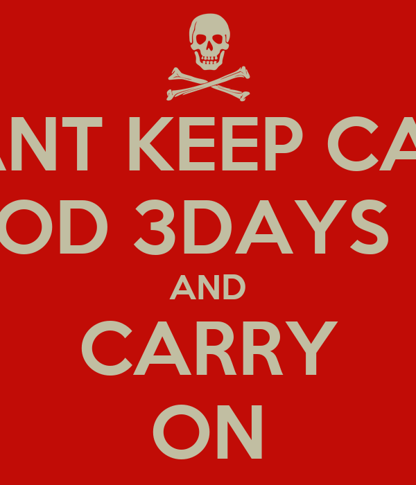 Icant Keep Calm My Period 3days Late And Carry On Poster Dri Keep Calm O Matic