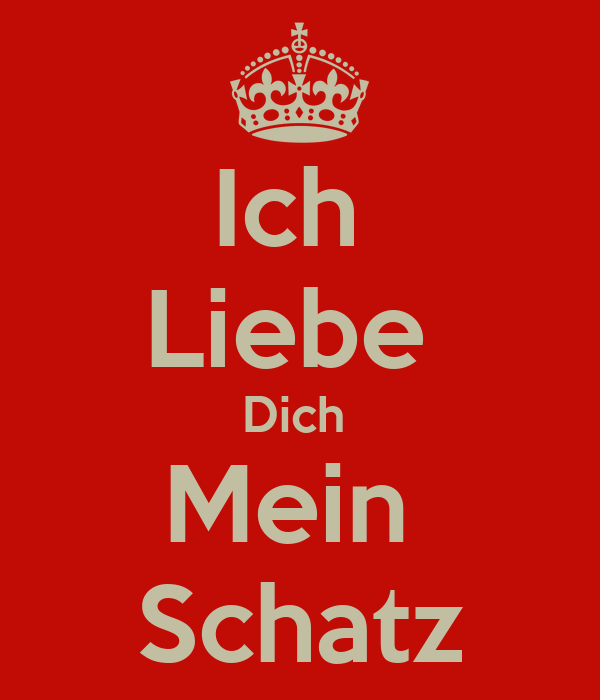 ich liebe dich mein schatz poster noel keep calm o matic. Black Bedroom Furniture Sets. Home Design Ideas