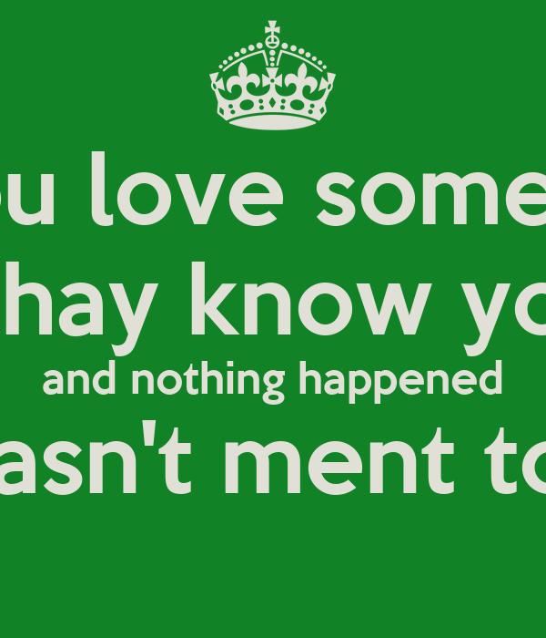 How do u know when u love someone