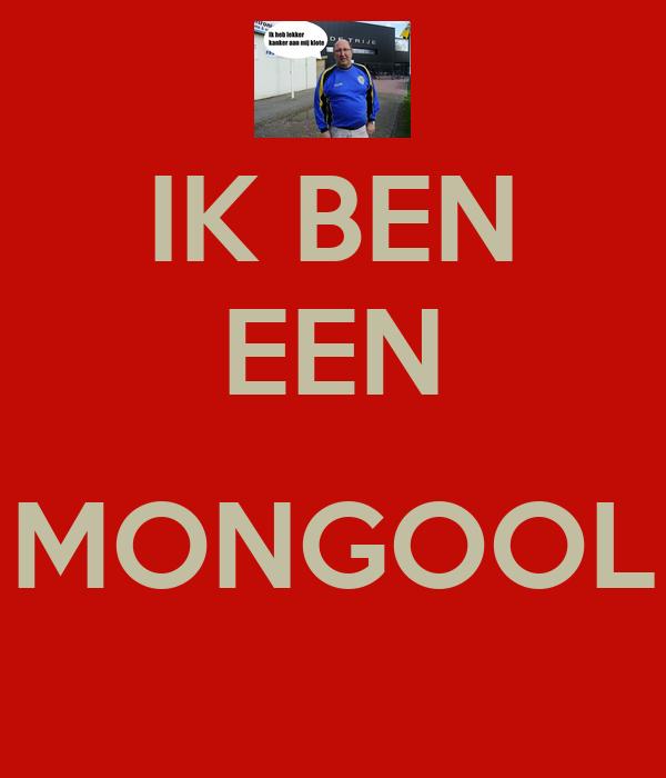 Ik Ben Een Mongool Poster Peter Keep Calm O Matic