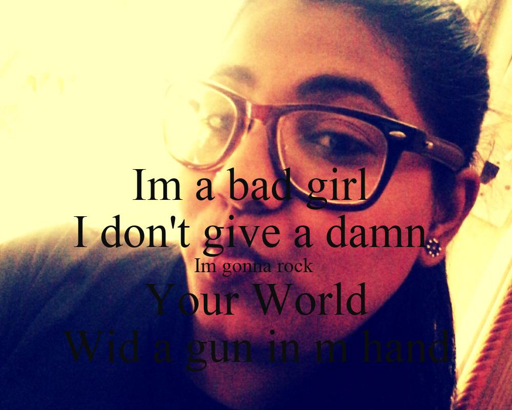 Damn girl dont hurt nobody