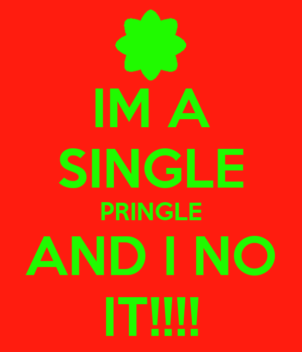 singles in pringle There are 113 calories in 1 snack stack tub (07 oz) of pringles sour cream & onion potato chips you'd need to walk 29 minutes to burn 113 calories visit calorieking to see calorie count and nutrient data for all portion sizes.