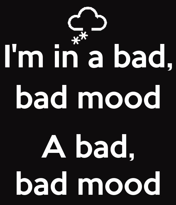 Bildresultat för bad mood