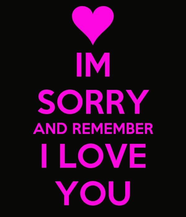 Sorry Love Quote: Im Sorry Mom Quotes. QuotesGram