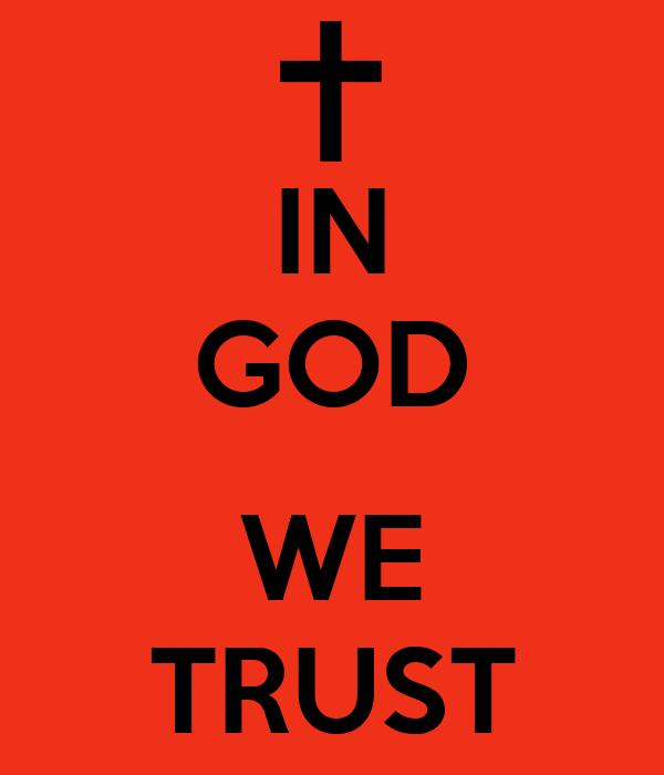 In God I Trust In Latin 100