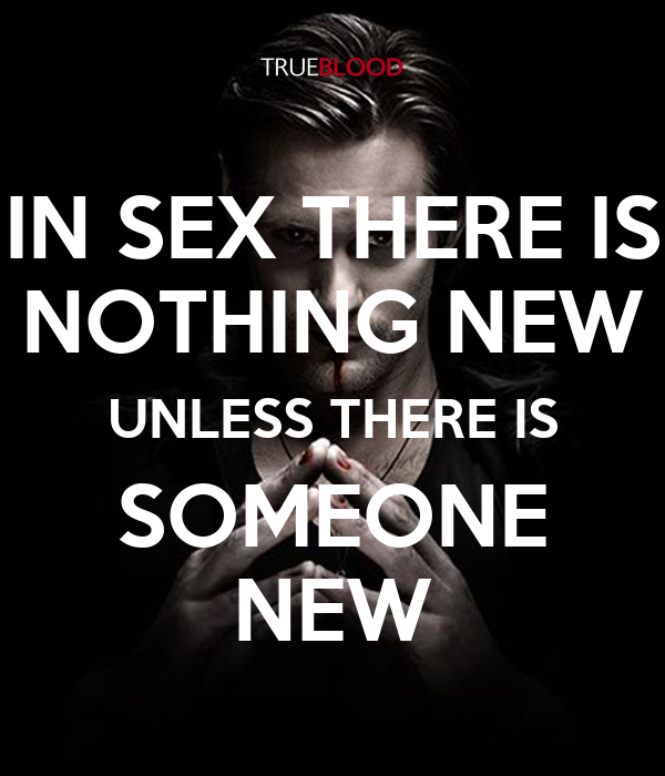 Sex is nothing new