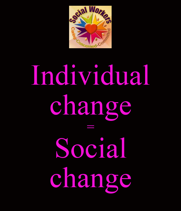 the individual society and change Themes and essential questions what are the responsibilities of the individual / society change how does an individual's point of view affect.