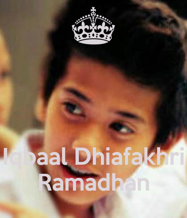 Iqbaal Dhiafakhri Ramadhan