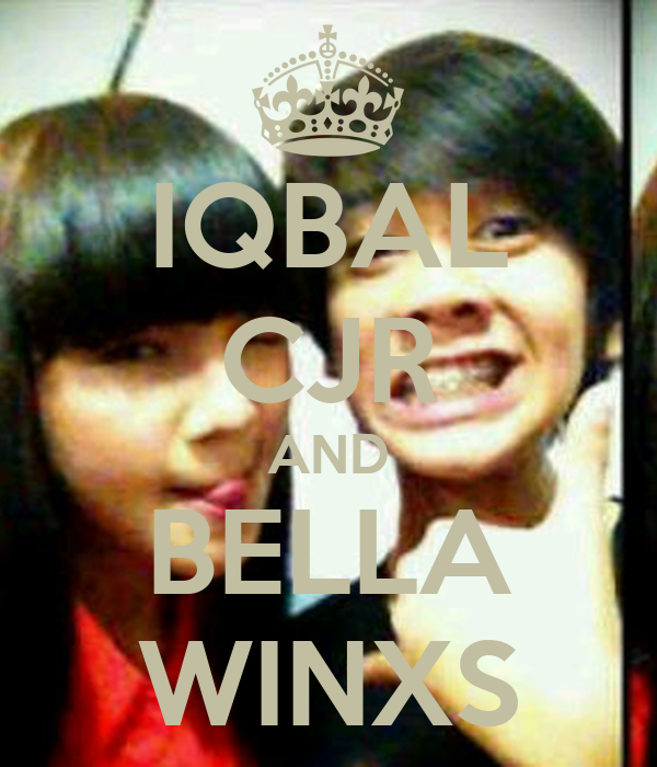 IQBAL CJR AND BELLA WINXS Poster | vania | Keep Calm-o-Matic