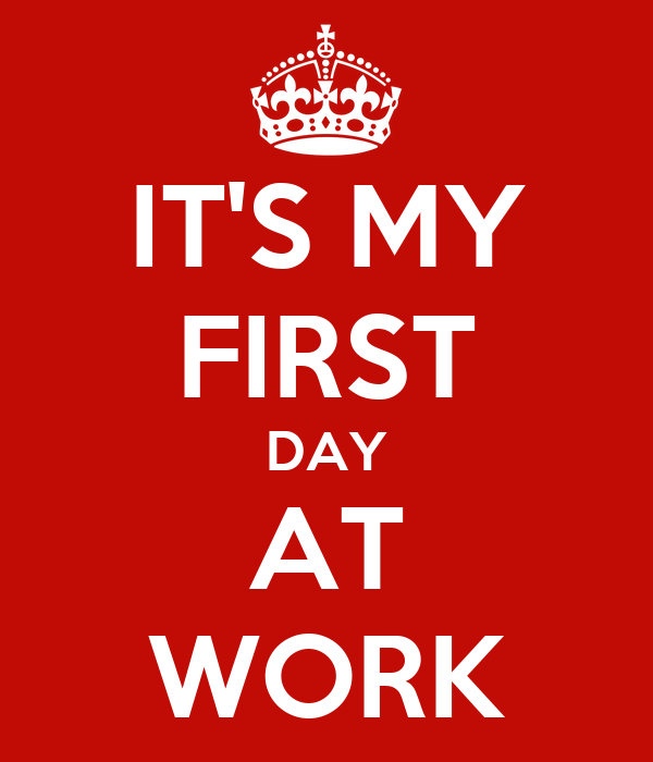 first working day
