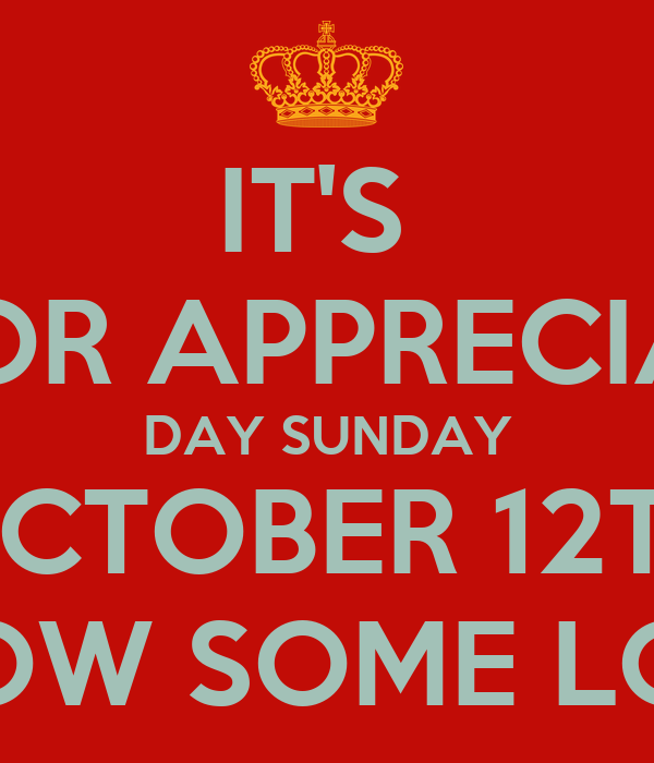 it 39 s pastor appreciation day sunday october 12th show some love poster alan galloway keep. Black Bedroom Furniture Sets. Home Design Ideas