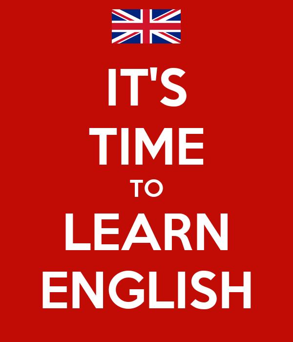 i like learing english and i