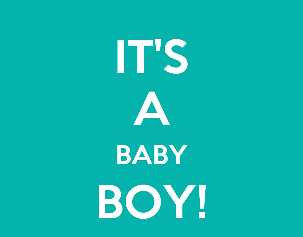 IT'S A BABY BOY! Poster | assss | Keep Calm-o-Matic
