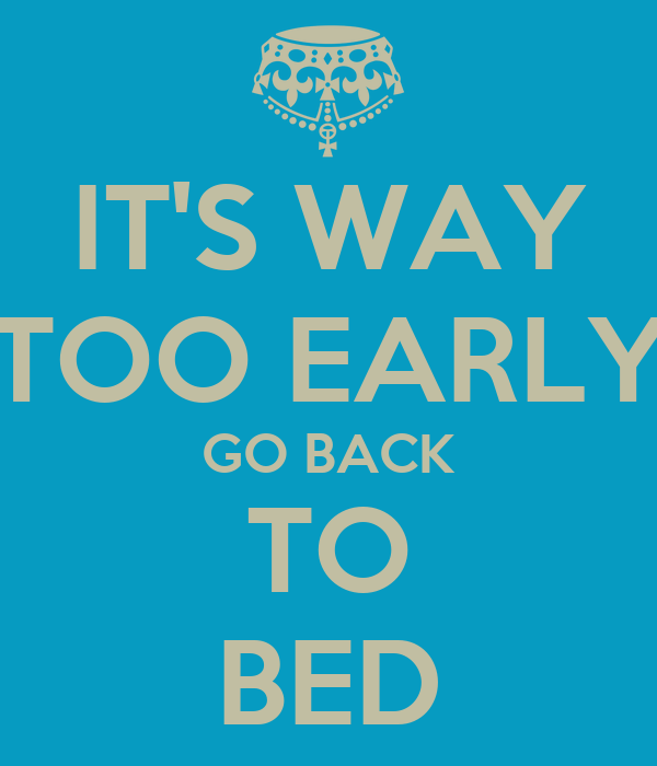 So Is It Too Early Or What? | VHC Message Board Posts