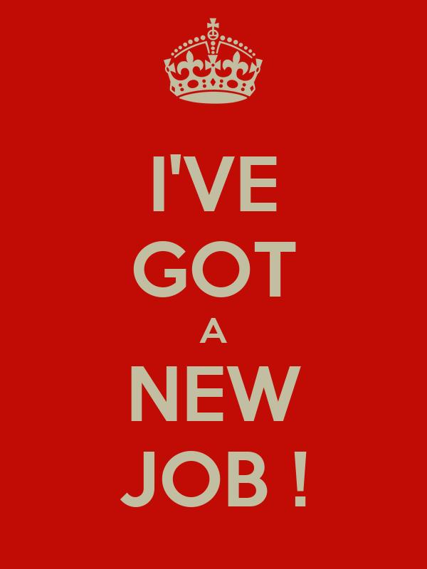 Got a new job at the prestigious company 9