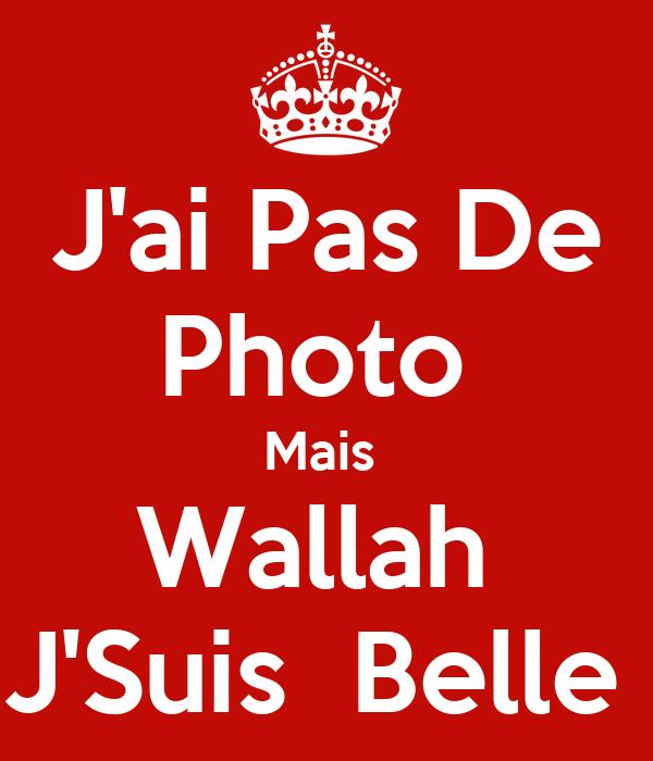 j ai pas de photo mais wallah j suis poster zirabreak keep calm o matic