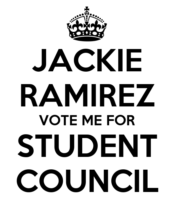 Vote For Me Posters Student Council Get This Poster Your ...