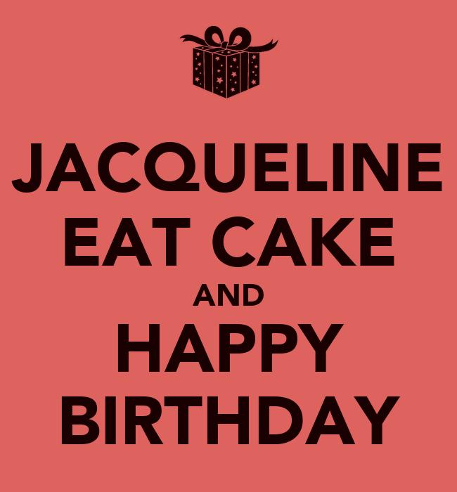 Happy Birthday Jackie Cake Pictures