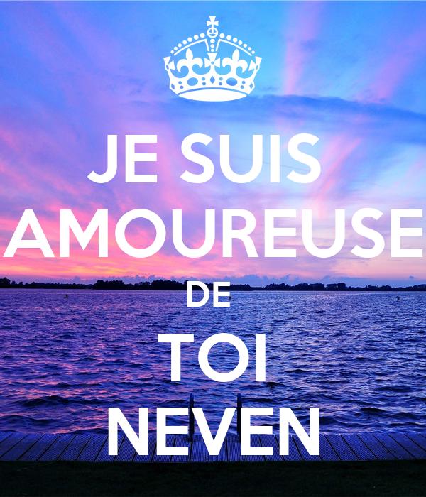 Je Suis Amoureuse De Toi Neven Poster Salome Keep Calm O