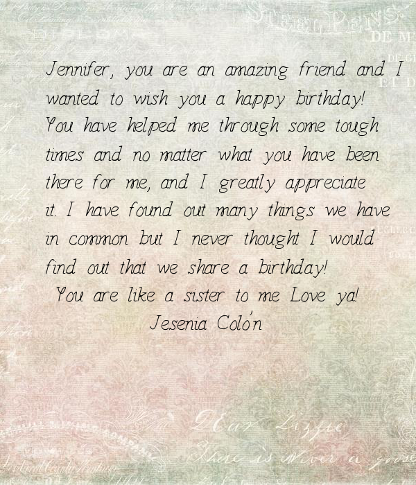 I Really Love You So Much Letter