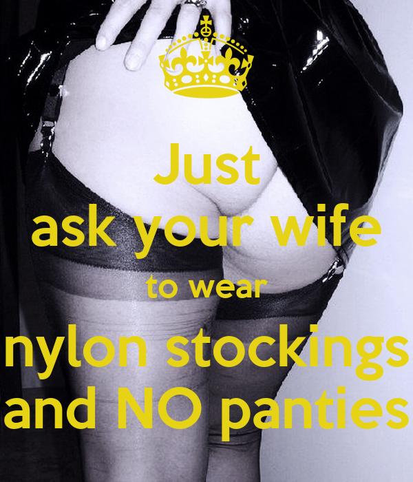 Stockings No Panties 34