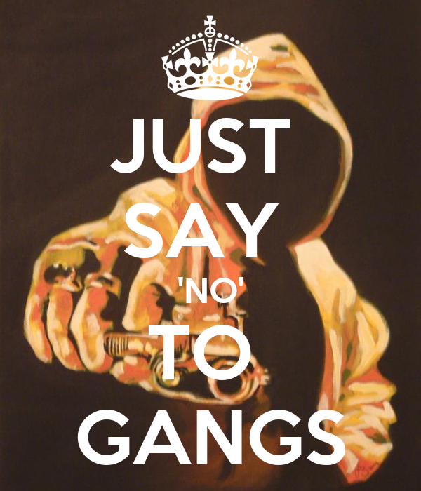 peer pressure in gang violence Peer pressure is a term describing the pressure exerted by a peer group in encouraging a person to change their attitude, behavior and/or morals, to conform to, for.