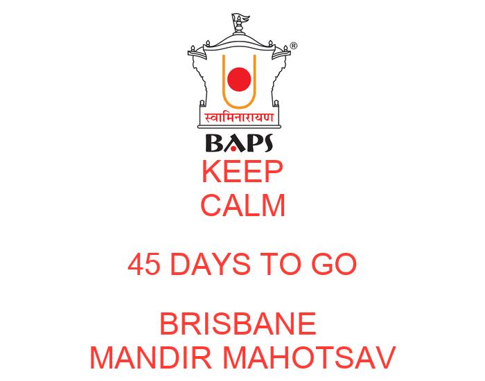 45 days from a date in Brisbane