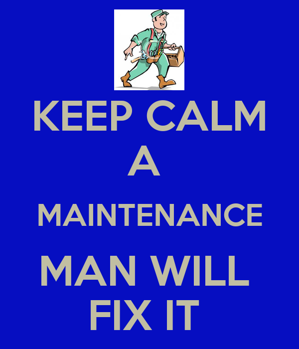 A maintenance man