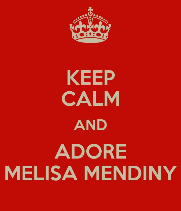 Mediny melisa Melissa Mendiny