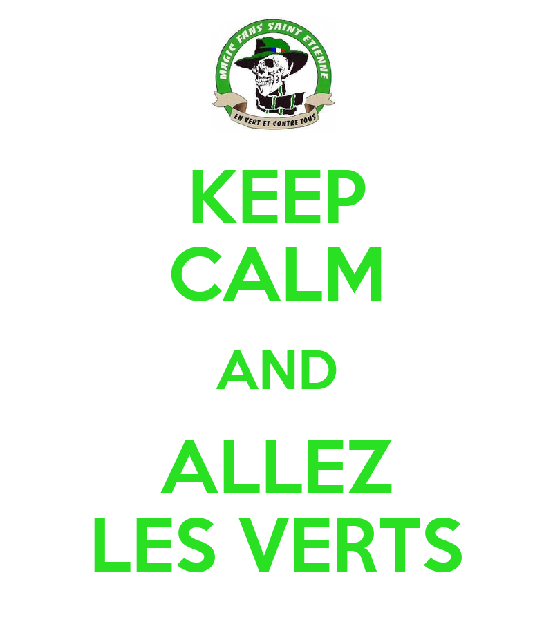 Keep calm and allez les verts keep calm and carry on for Les espaces verts pdf