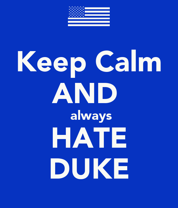 Kentucky on stomp keep and calm