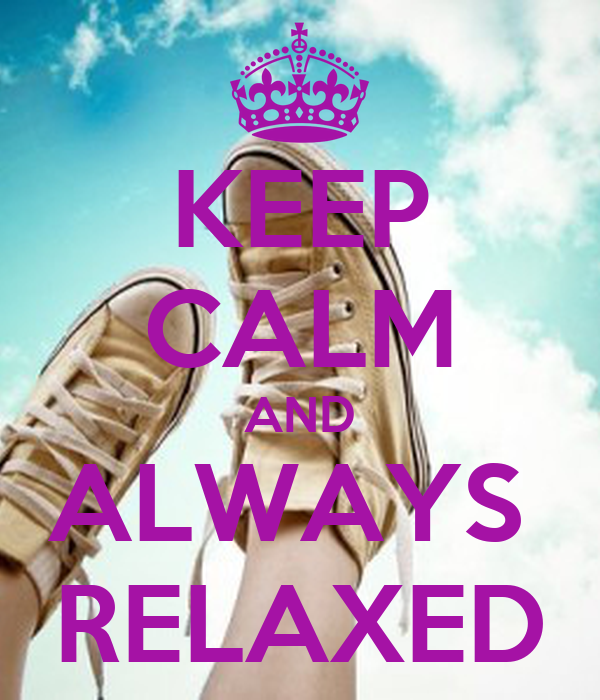 how to get calm and relaxed