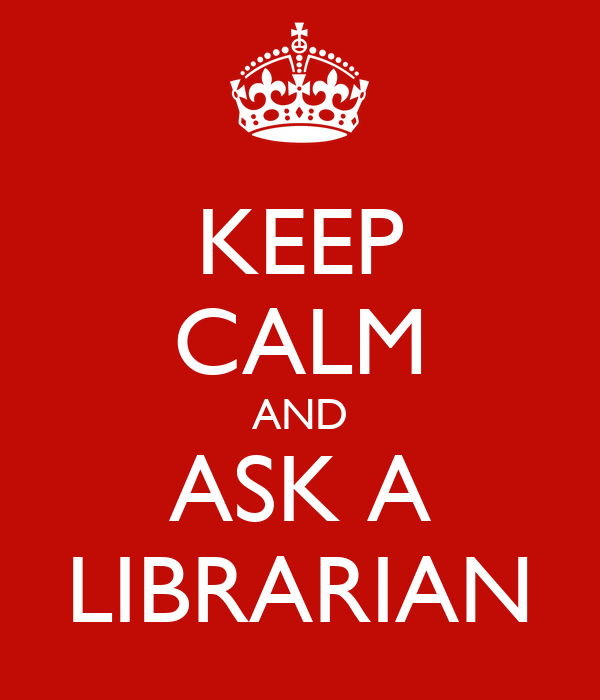 Keep calm and ask a librarian poster uts library keep for Librarian t shirt sayings