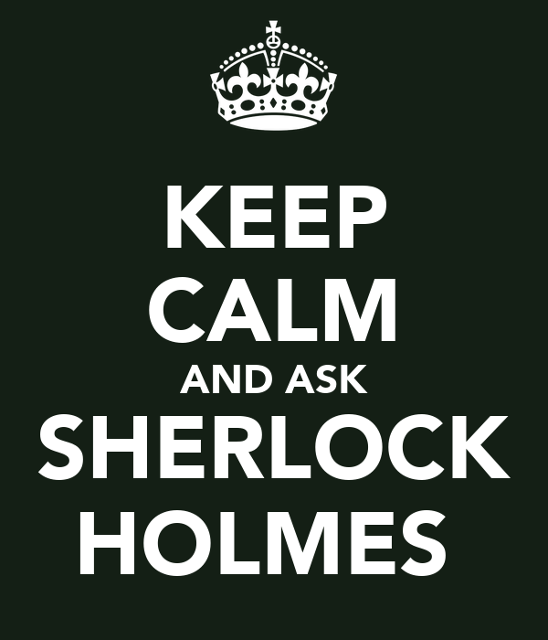 keep calm and ask sherlock holmes - Generics from rxcreams.com JCM Pharmacy?