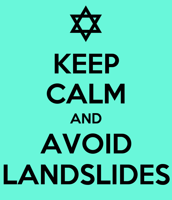 Landslides We Dont Need No Music Music Please Music