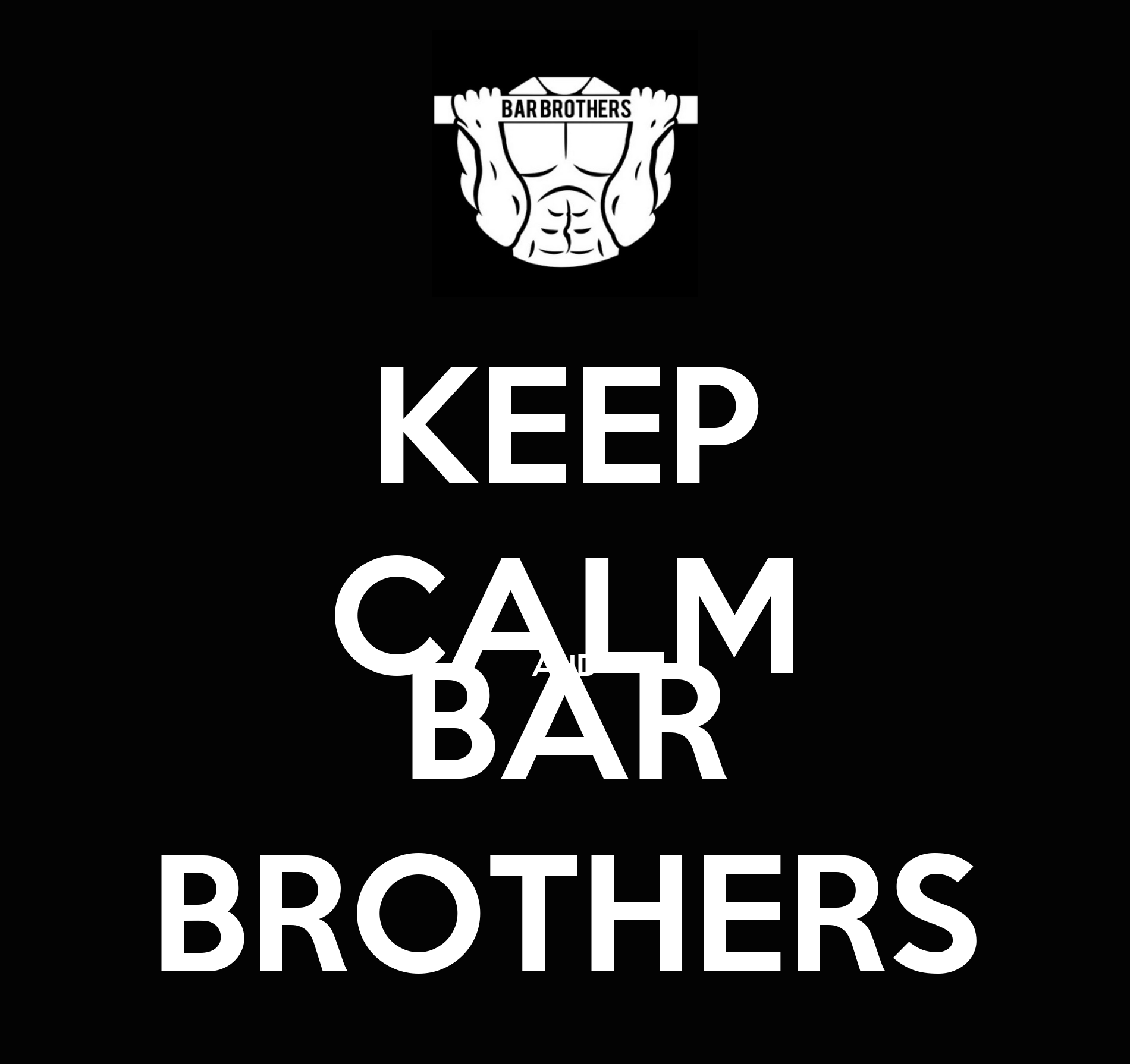 keep calm and bar brothers poster sdadas keep calm o matic