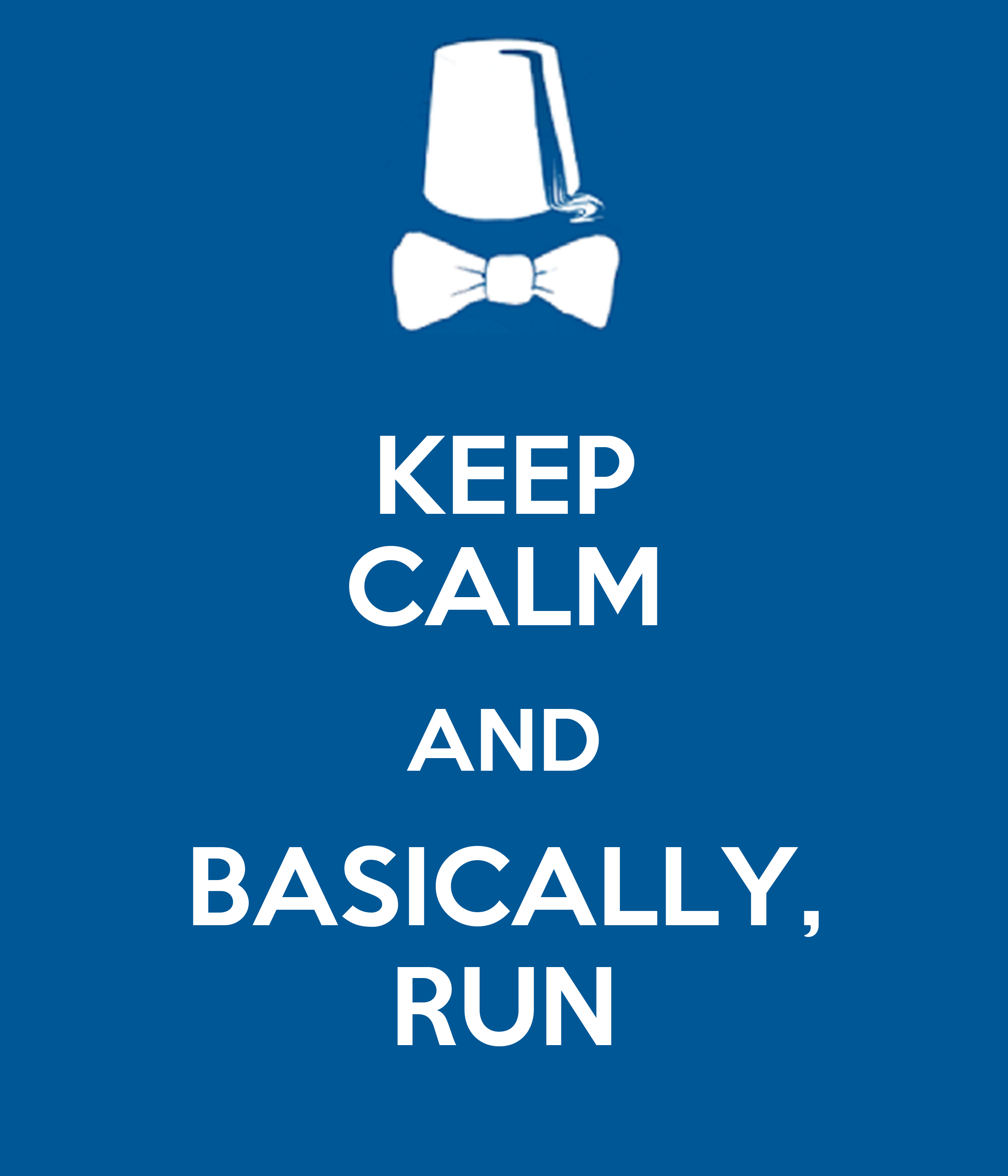 Wall Stickers Personalized Keep Calm And Basically Run Keep Calm And Carry On