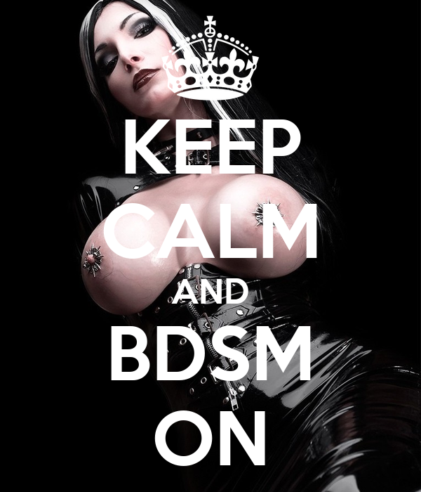 keep calm bdsm