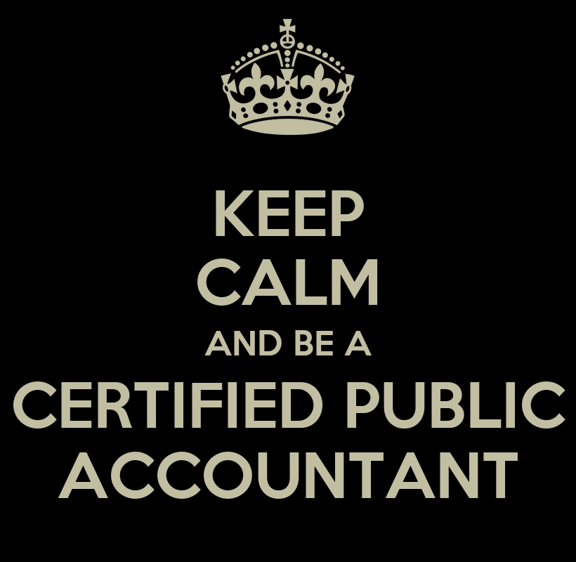 Certified Public Accountant Wallpaper Keep Calm And be a Certified