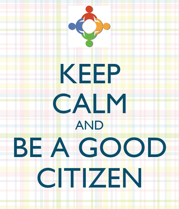 Good citizenship essay