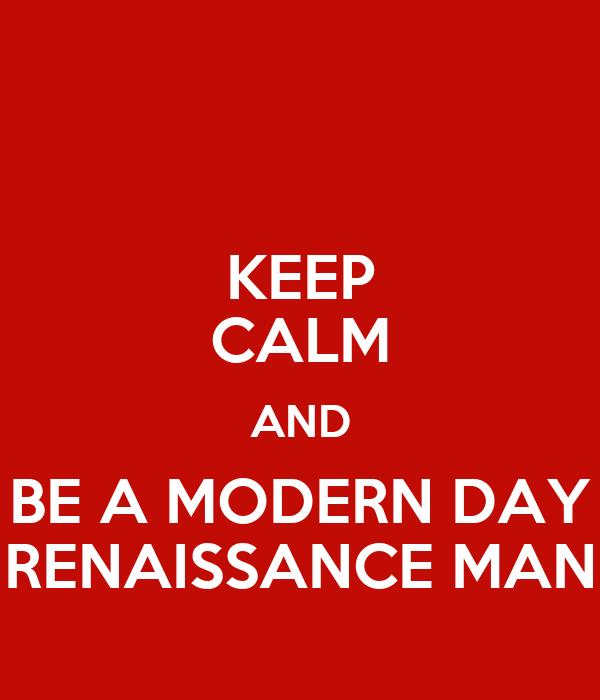 modern morning renaissance gentleman composition help