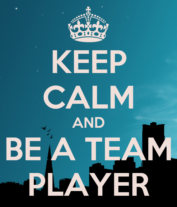 how to be a team player pdf