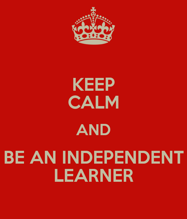 how to become an independent learner