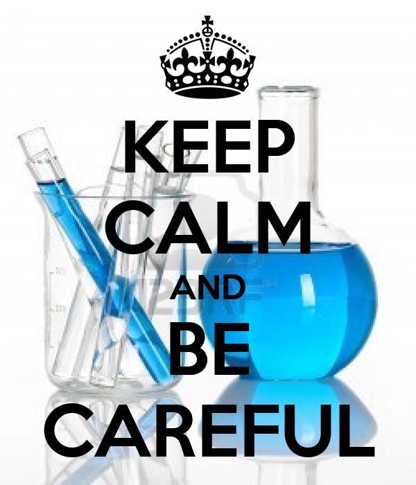 KEEP CALM AND BE CAREFUL Poster | Simon