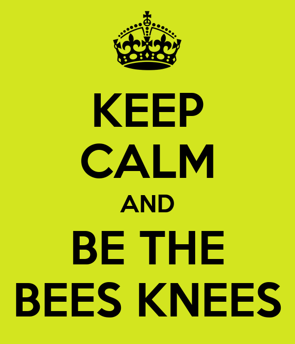 the bee s knees the bee s knees by the bees knees logo you re the bees ...