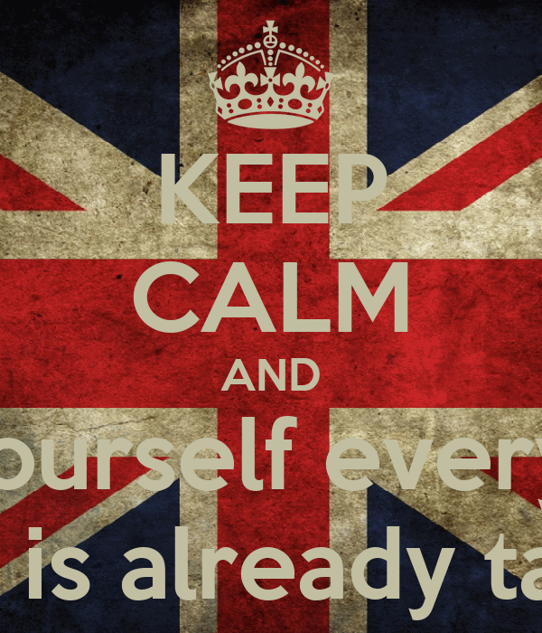 Keep Calm And be Yourself Wallpaper Keep Calm And be Yourself